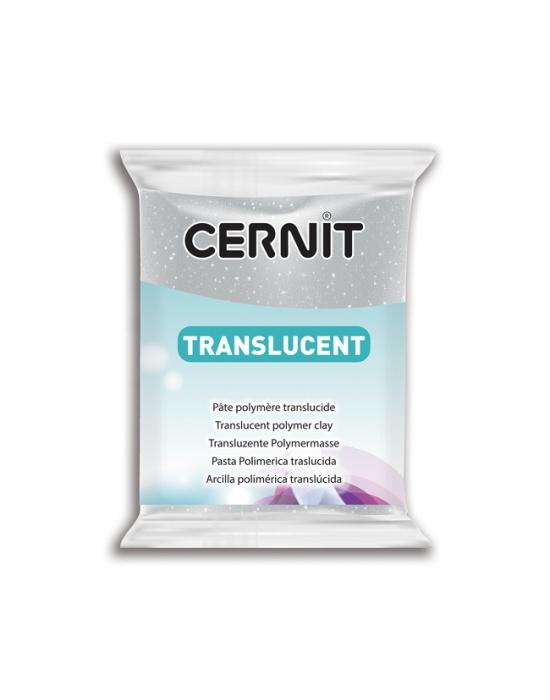 CERNIT Translucent 56 g Glitter Argent N° 50