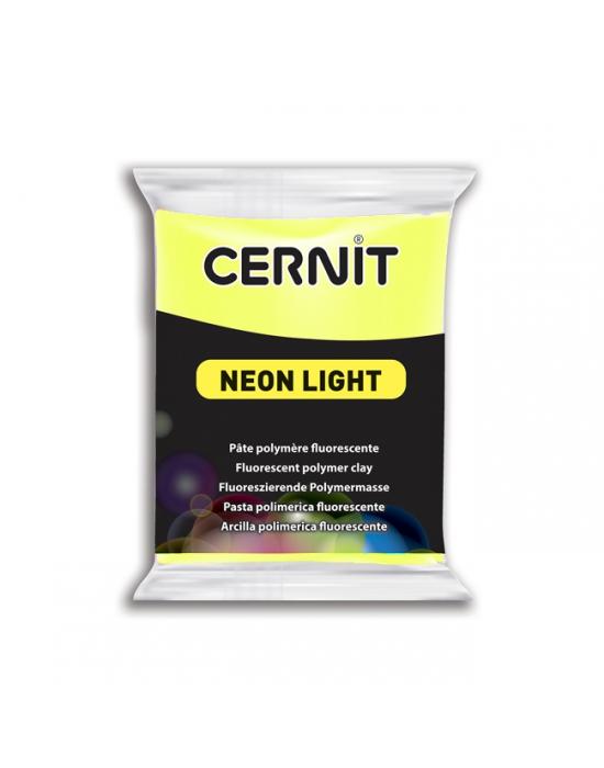 CERNIT Neon Light - 56 g - Jaune - N° 700