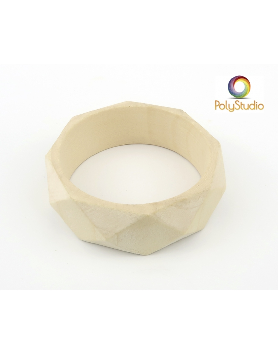 1 faceted bangle blank
