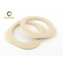 2 rounded square bangle blanks