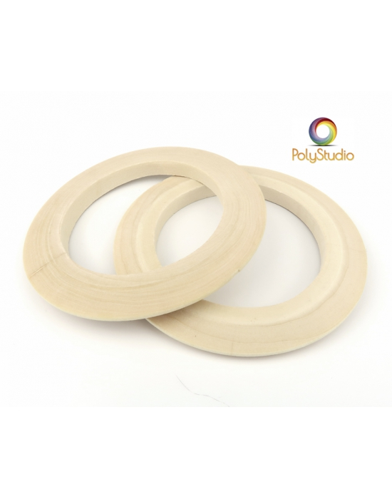 2 lenticular round bangle blanks