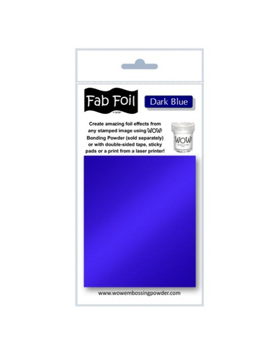 Fab Foil Dark Blue