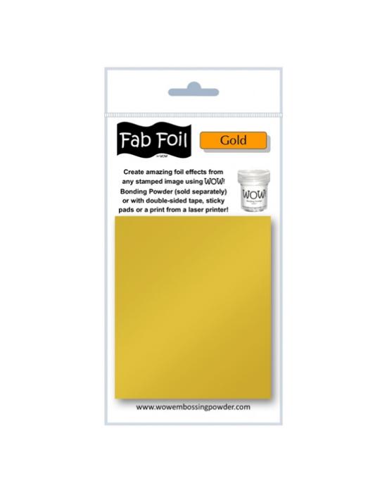 Fab Foil Gold
