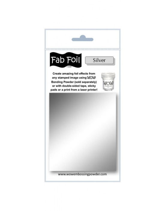 Fab Foil Silver