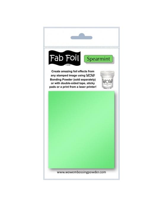 Fab Foil Spearmint