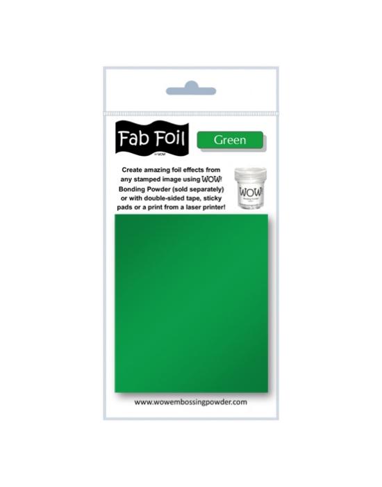Fab Foil Green