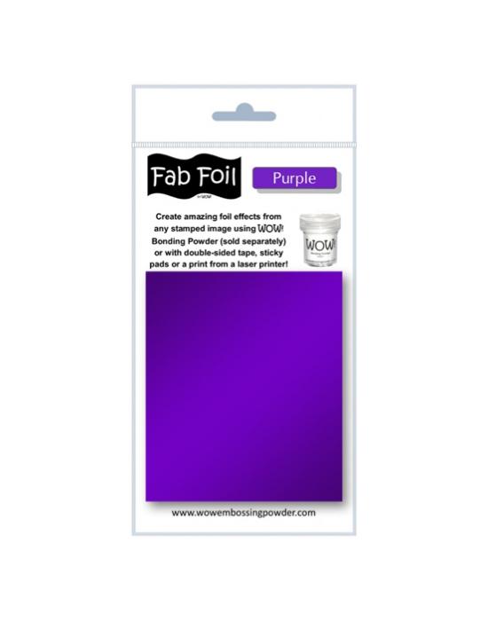 Fab Foil Purple