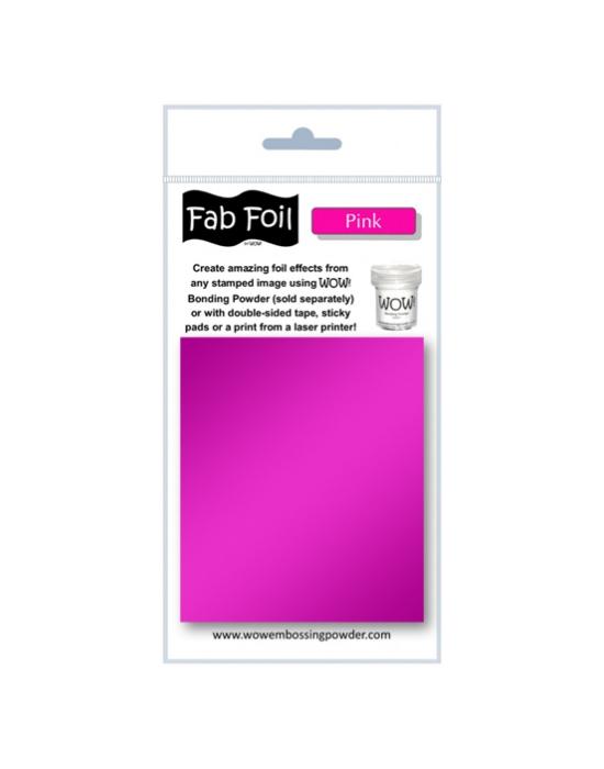 Fab Foil Pink
