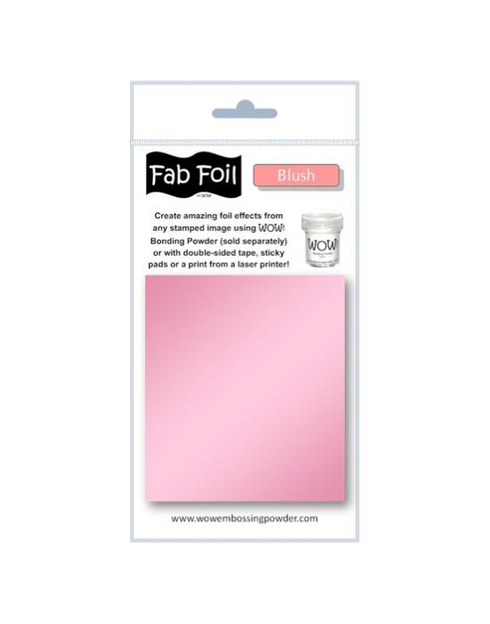 Fab Foil Blush