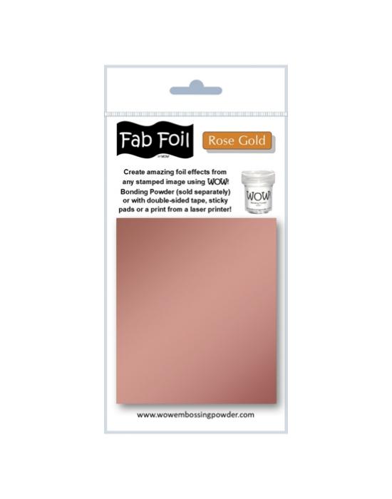 Fab Foil Rose Gold