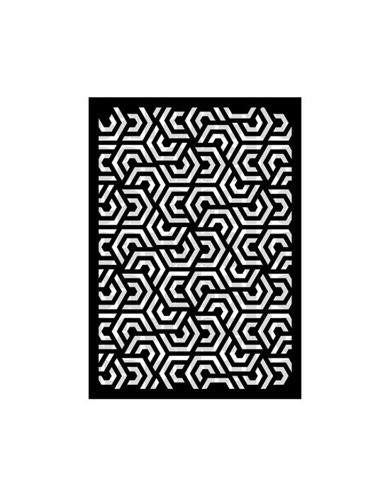Géométrie 3 Stencil Carabelle