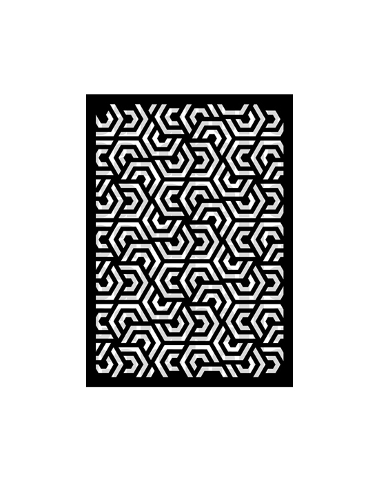 Pochoir Géométrie 3 Carabelle