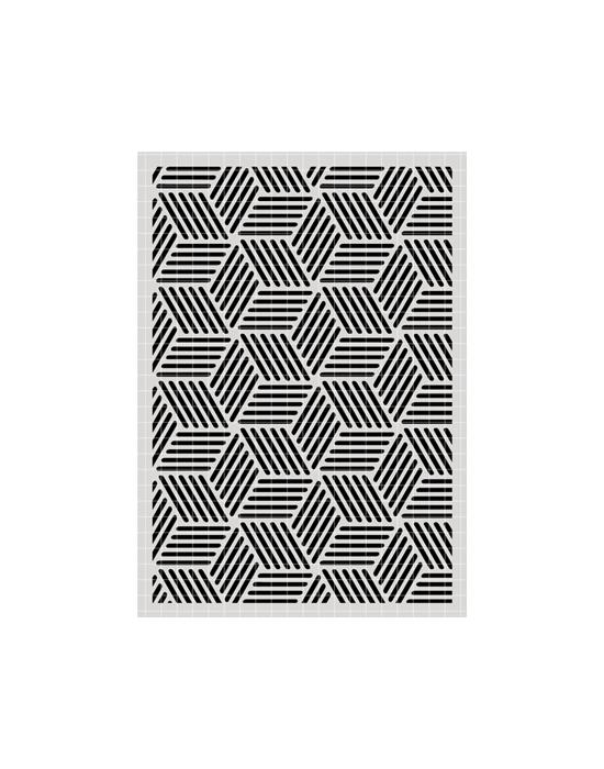Pochoir Géométrie 4 Carabelle