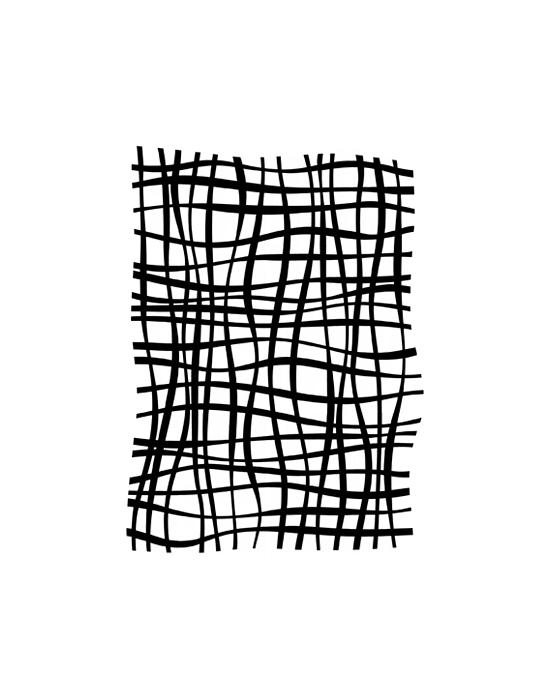 Jeu de lignes Carabelle Stencil