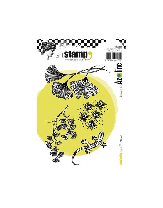 Ginkgo A6 stamp