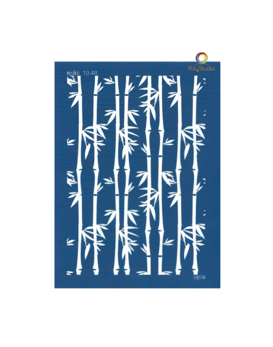 Moïko silk screen Bamboos