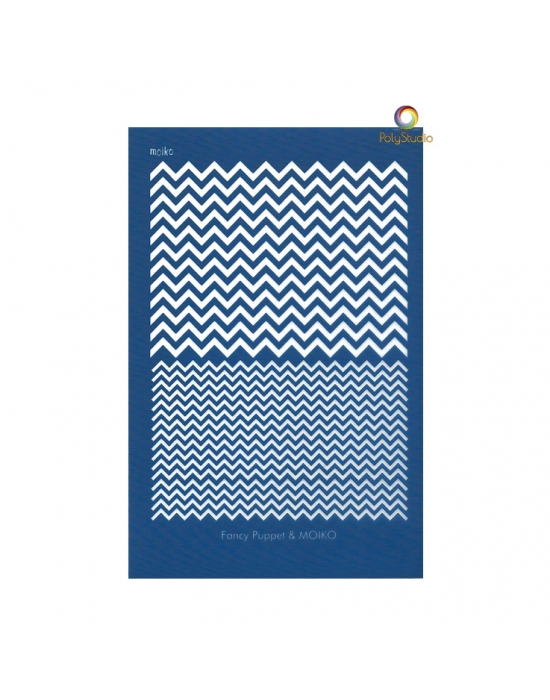 Fancy Puppet/Moïko silk screen Chevrons