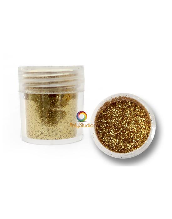 Gold micro glitters