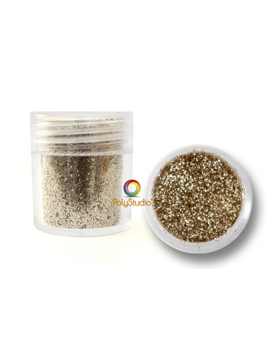 Silver micro glitters