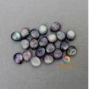 Mother of pearl half drop beads