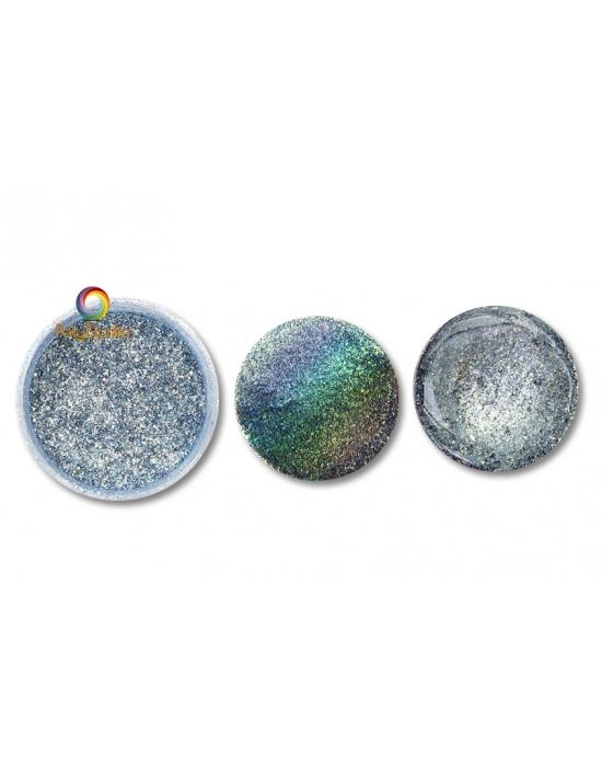 Holographic Pastel Blue Shine Powder
