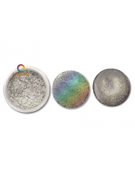 Holographic Silver Shine Powder
