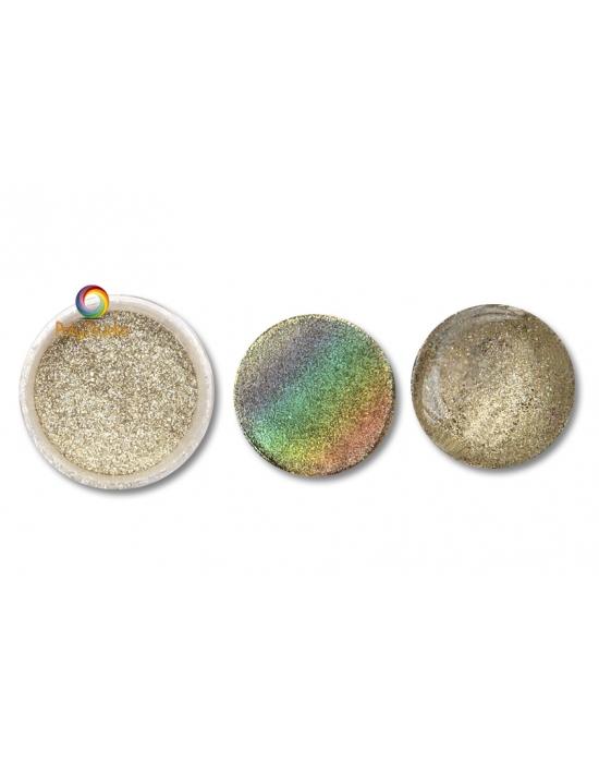 Holographic Gold Shine Powder