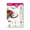 3 transferts Evil eye Graine Créative