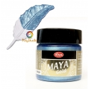 Ice blue Maya Gold paint