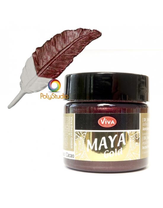 Cocoa Maya Gold paint