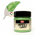 Apple green gold Maya Gold paint