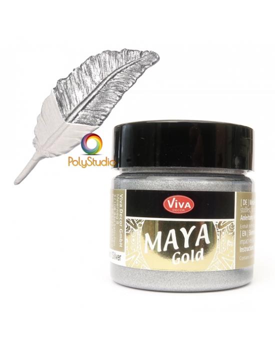 Silver Maya Gold paint