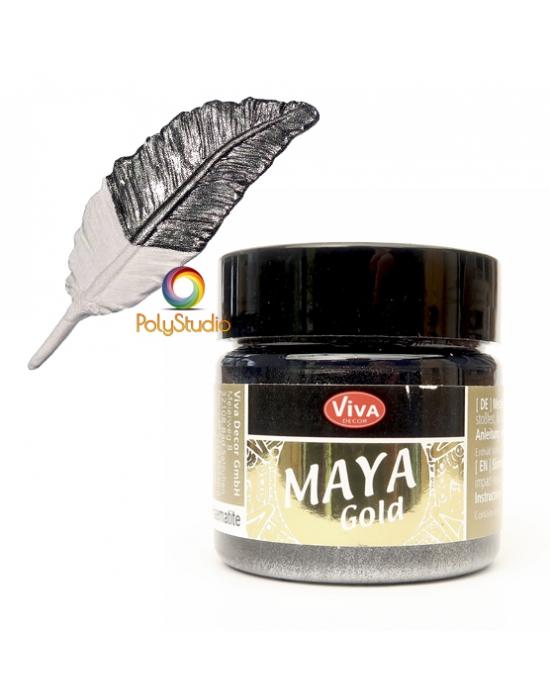 Hematite Maya Gold paint