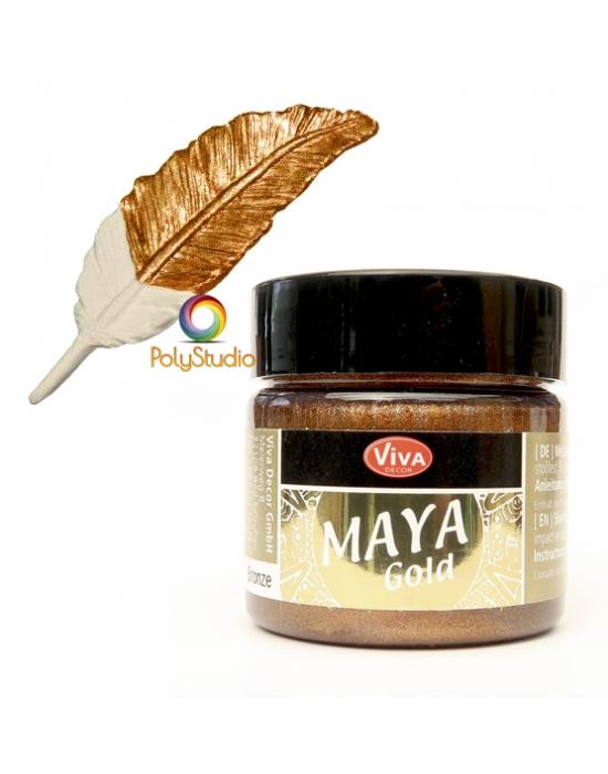 Bronze Maya Gold paint