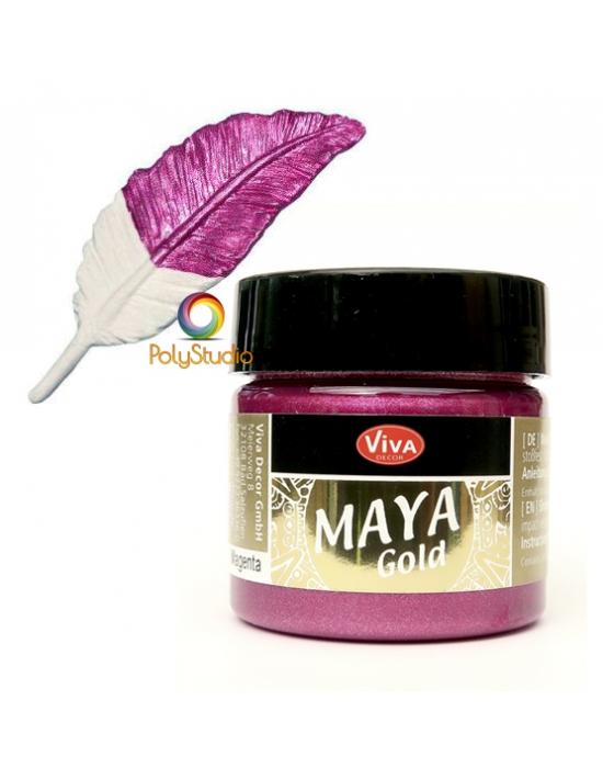 Peinture Maya Gold Magenta