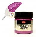 Magenta Maya Gold paint
