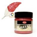 Fire red Maya Gold paint