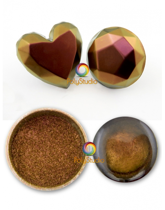 Chameleon powder Gold Copper