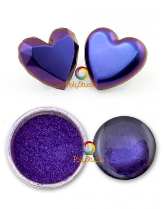 Chameleon powder Blue Purple