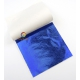 Metallic sheet blue