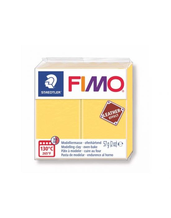 FIMO Cuir 57 g Safran N° 109