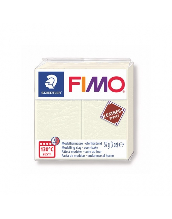 FIMO Cuir 57 g Ivoire N° 29