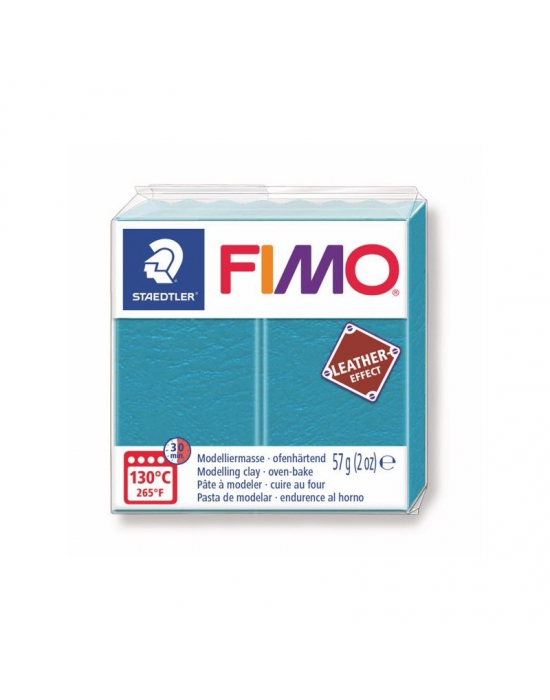 FIMO Leather 57 g 2 oz Lagoon Nr 369