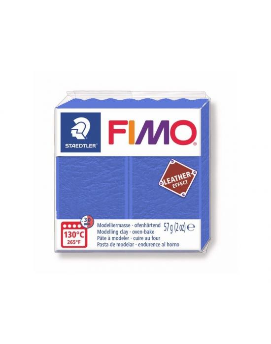 FIMO Cuir 57 g Indigo N° 309