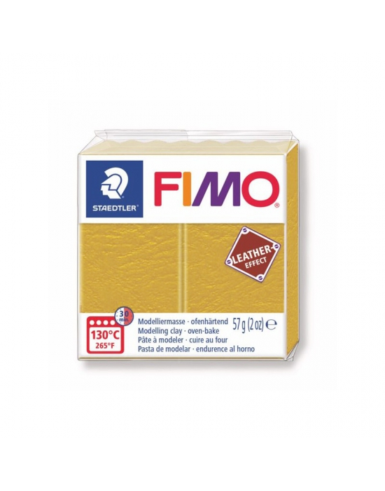 FIMO Leather 57 g 2 oz Ochre Nr 179