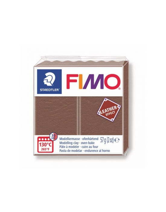 FIMO Cuir 57 g Rouille N° 749