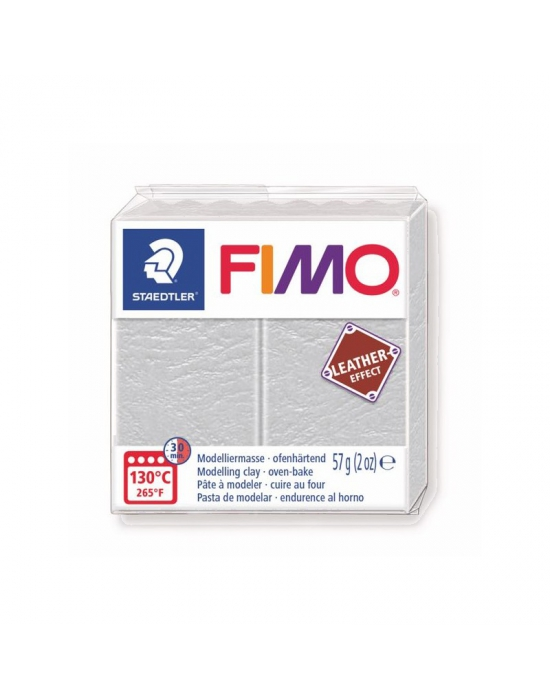 FIMO Leather 57 g 2 oz Dove grey Nr 749