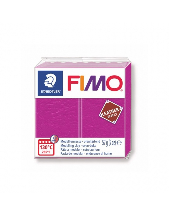FIMO Leather 57 g 2 oz Berry Nr 229