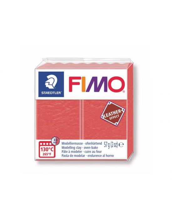 FIMO Cuir 57 g Pastèque N° 249