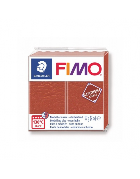 FIMO Leather 57 g 2 oz Rust Nr 749